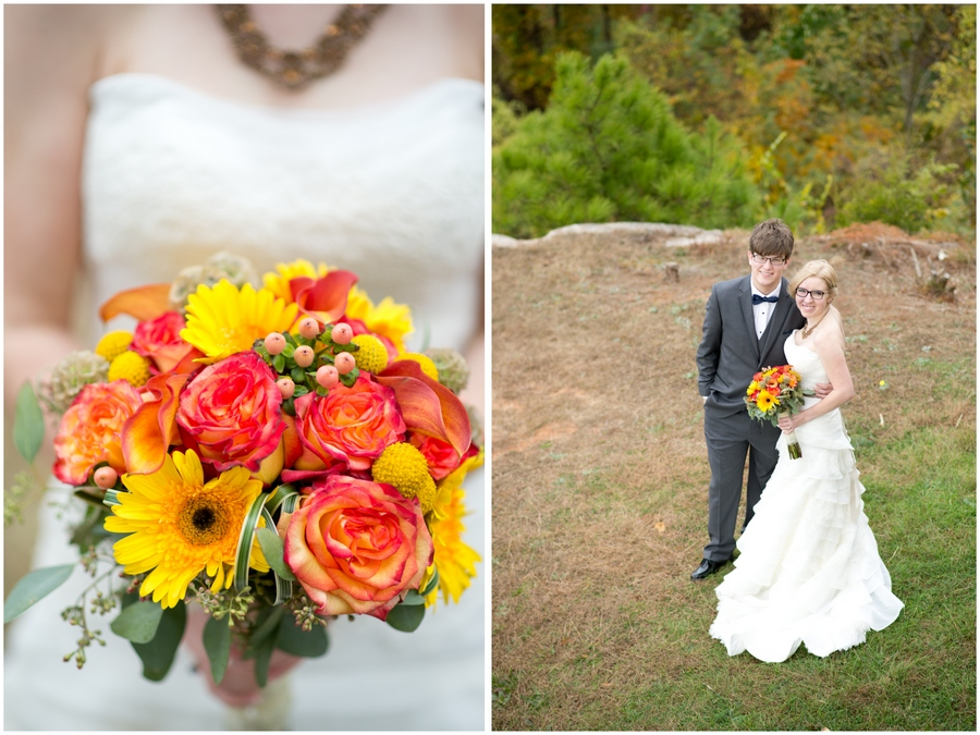 Lake Guntersville State Park Fall Wedding Photography Alabama